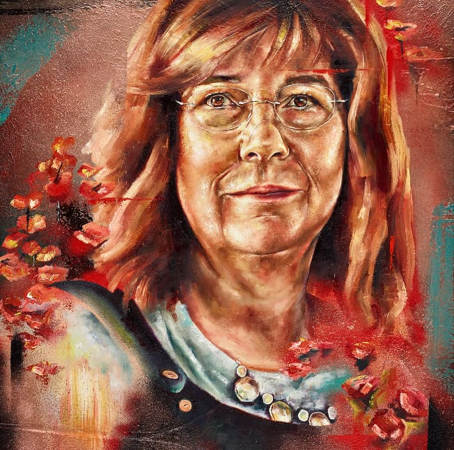 A portrait of Mel Williams