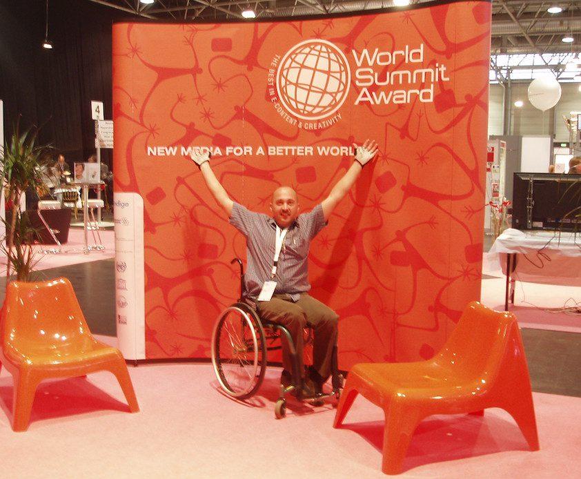 Alan at World Summit Awards