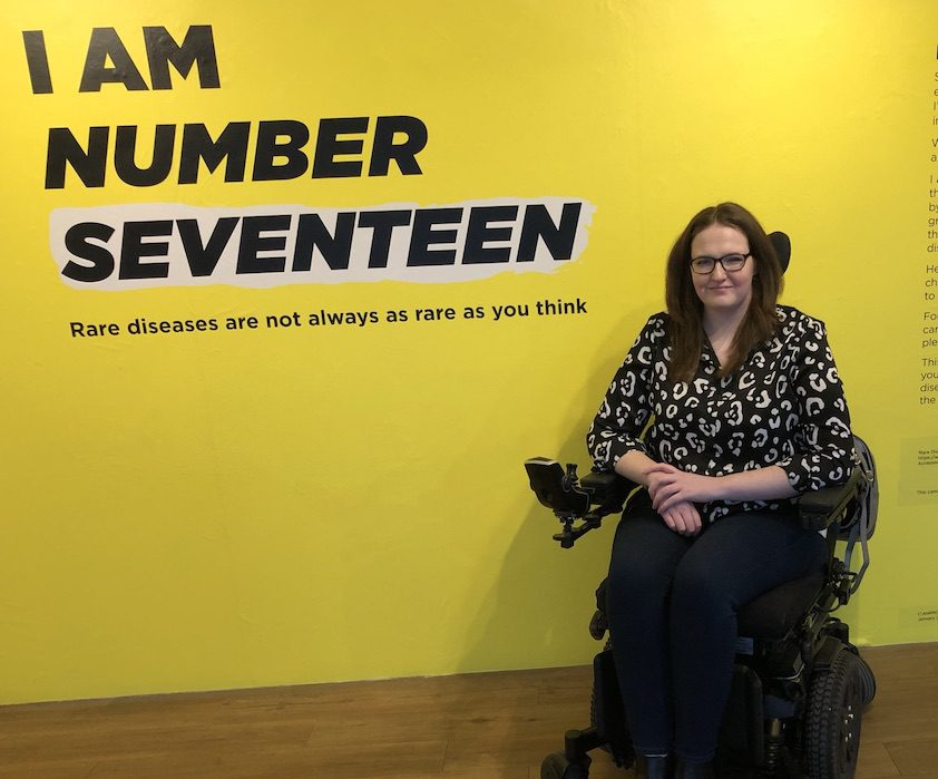 Shona at the I am number 17 launch art exhibition