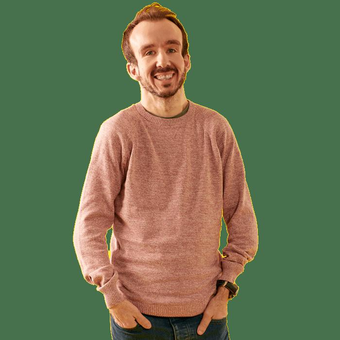 Portrait image of David